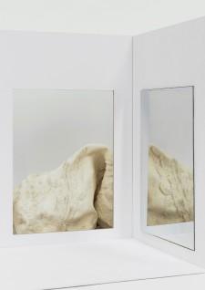 Ute Müller, 2019, cardboard, latex, variable dimensions.
